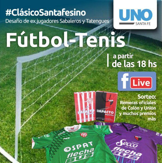 #ClásicoSantafesino: UNO Santa Fe prepara el fútbol-tenis