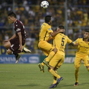 lanus recibe a un ascendente central
