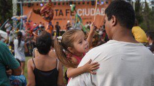 Miles de santafesinos participaron del cierre del festival
