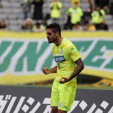 Un ex-Colón que hace goles en Japón