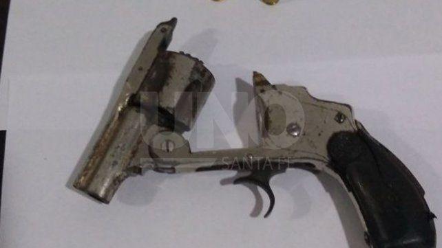 Persecución y aprehensión de violento tiratiros con un arma de guerra cargada en Rosario