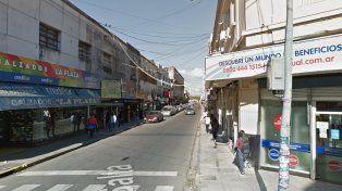 Cortes en la Peatonal San Martín por obras