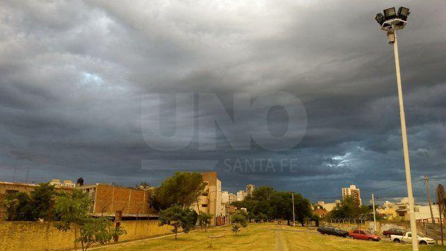 Alerta meteorológica a corto plazo para el departamento La Capital