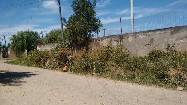 Vecinos de barrio Transporte exigen la limpieza de los alrededores del Club Pucará