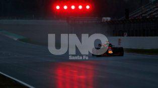 Daniel Ricciardo arrancó con todo en los ensayos de pretemporada de la F1