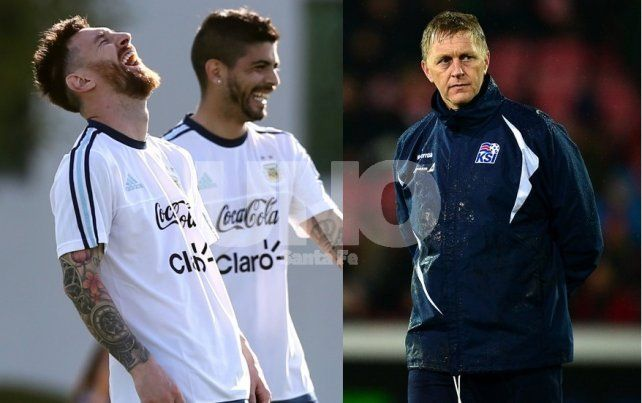El fuerte pedido del DT de Islandia a Lionel Messi