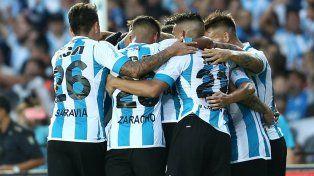 Racing pone primera en la Libertadores ante Cruzeiro