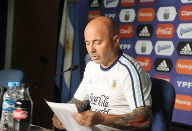 Este jueves Sampaoli dará la lista para los amistosos ante Italia y España