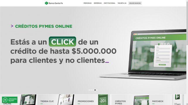 Las pymes santafesinas ahora pueden acceder a créditos online en 60 minutos