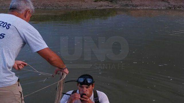 Hallaron el cadáver de un pescador que se había ahogado en el arroyo Cululú
