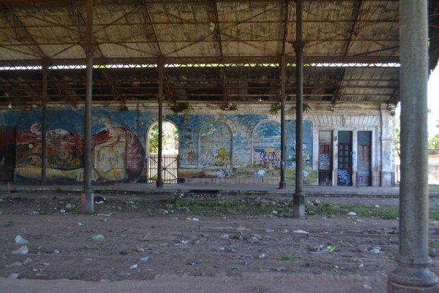 Ex-Estación Mitre. Marzo 2018.