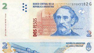 ¿Cuándo dejan de circular los billetes de 2 pesos?