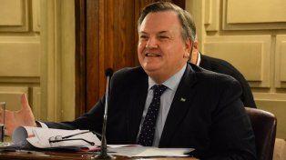 Valoración. Michlig defendió la iniciativa del gobierno de la provincia.