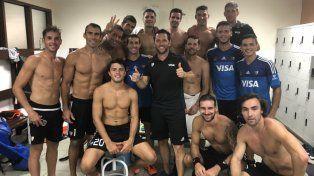 Gran victoria de Los Leones ante India