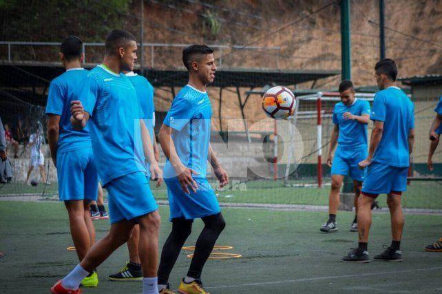 Zamora FC entrenó por última vez antes de viajar a Santa Fe