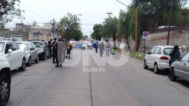 Atacaron a balazos a un trabajador de Urbafe en inmediaciones del parque Garay
