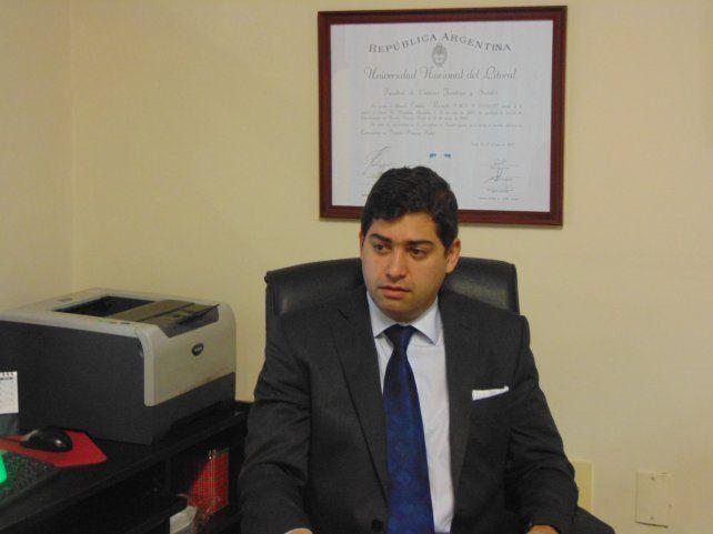 Licencia. Rosatti estuvo al frente de la Secretaría Electoral Nacional y ahora fue convocado por el Tribunal Oral Federal de Santa Fe.