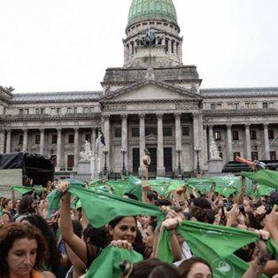 presentan en el congreso el proyecto de aborto legal con las firmas de 71 diputados