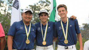 El santafesino Lucas Cena, campeón Sudamericano de golf