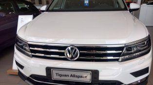 Modelo. La nueva Tiguan Allspace ya está disponible en Escobar.