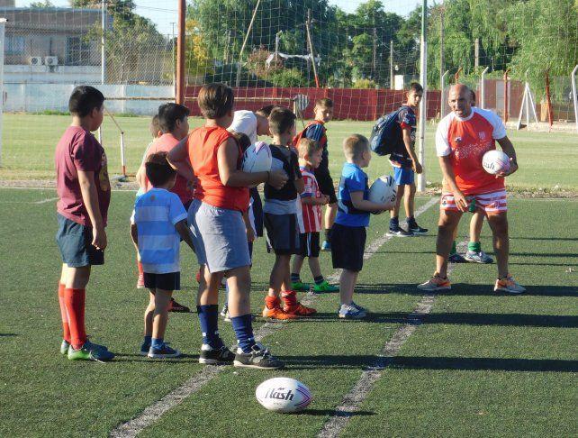 Unión abrió sus puertas al rugby