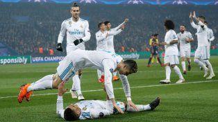 Champions League: Real Madrid impuso su mística en París y pasó a cuartos de final