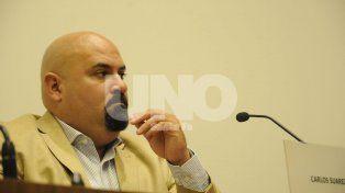 Suárez destacó que el discurso de Corral fue muy auspicioso para la ciudad
