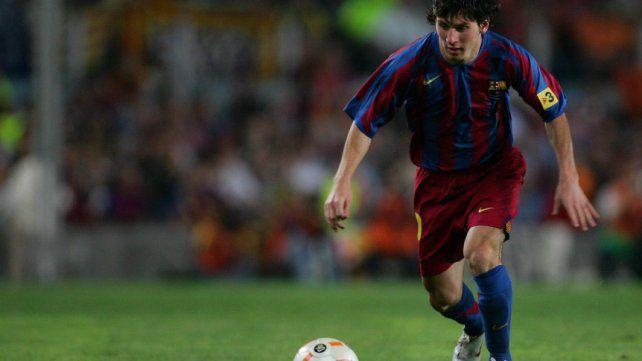 A 17 años de la primera vez de Messi en Barcelona