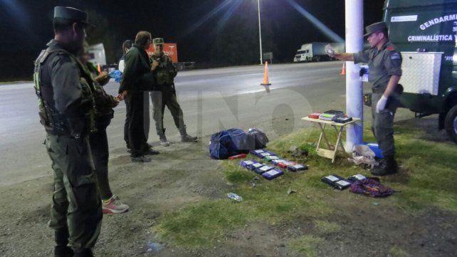 Secuestraron más de 16 kg de cocaína en un colectivo en la autopista, a la altura de Sauce Viejo