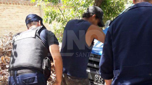 Lo detuvieron detrás de la cárcel de Las Flores, lugar del cual estaba evadido