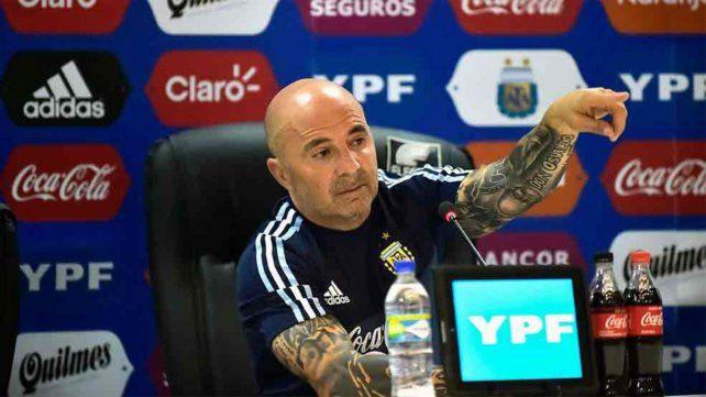 Sampaoli definió los convocados del fútbol local
