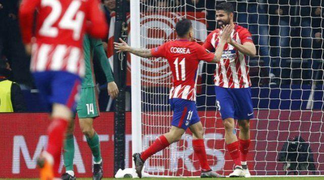 El Atlético del Cholo dio un gran paso hacia los cuartos de final