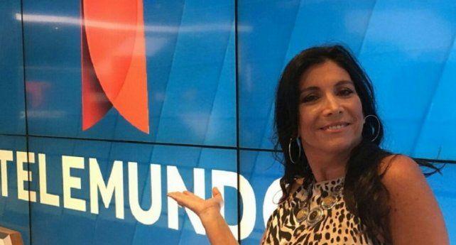Viviana Vila, la primera argentina en comentar partidos en el Mundial