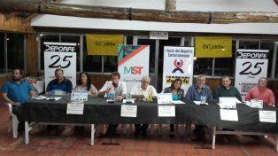 Se presentó la Fiesta del Deporte Santotomesino