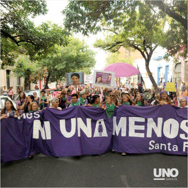 El 8M de Santa Fe en imágenes