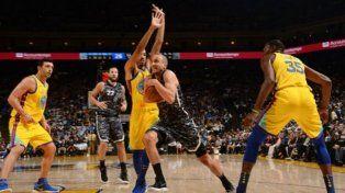 Poco y nada de Ginóbili en la caída de los Spurs ante los Warriors