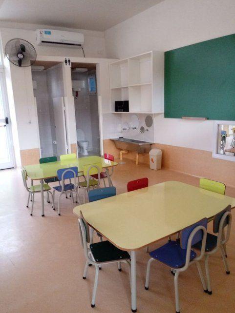 Nación inauguró un Jardín Maternal en Arroyo Leyes