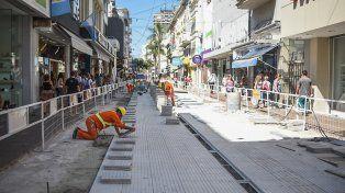 Peatonal San Martín: desvíos por corte en Mendoza entre 25 de Mayo y San Jerónimo
