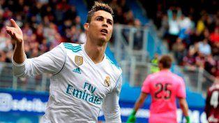 Cristiano Ronaldo puso la cara por el Madrid