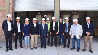 Lifschitz participó de la inauguración de la Nueva Central Térmica de Cogeneración Timbúes