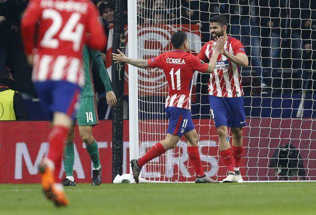 Ángel Correa marcó un tanto en la victoria del Aleti ante Celta de Vigo