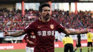Dos goles de Lavezzi en la victoria del Hebei Fortune