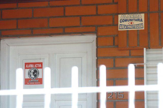 Por un robo, las alarmas comunitarias de Villa California sonaron por primera vez