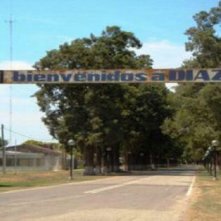 La localidad. El violento episodio sucedió a 100 kilómetros de la ciudad de Santa Fe