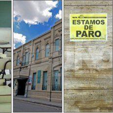 El paro nacional se siente con fuerza en la ciudad de Santa Fe