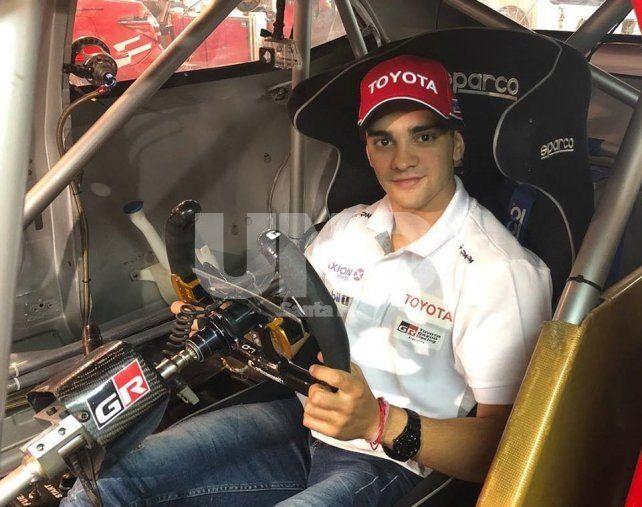 Luque es nuevo piloto de Toyota