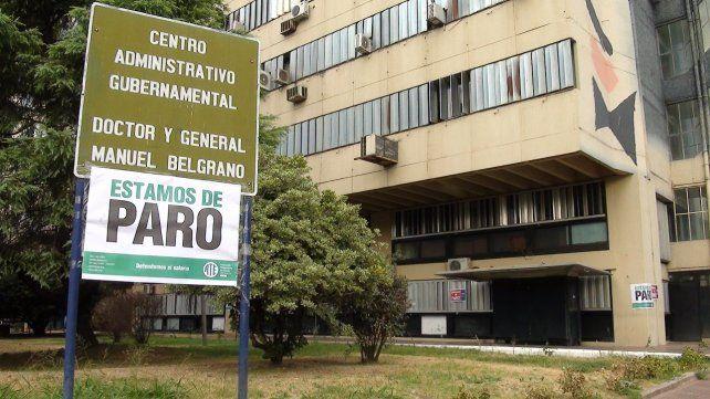 En el centro administrativo gubernamental.