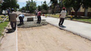 Destino. Los fondos podrán ser para obras de pavimento u otras complementarias.