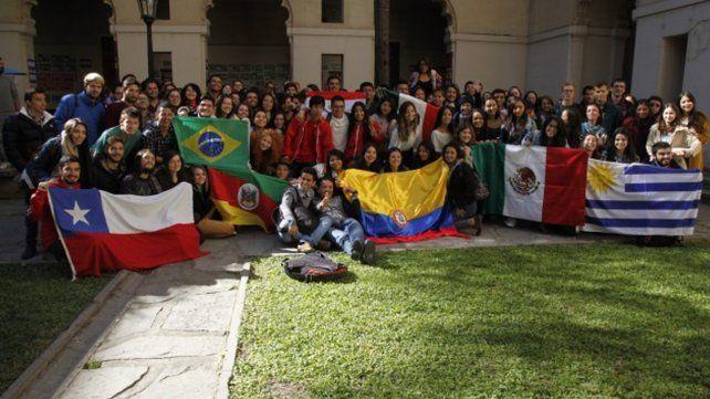 La UNL recibió a 117 estudiantes del mundo