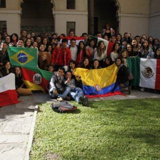 la unl recibio a 117 estudiantes del mundo